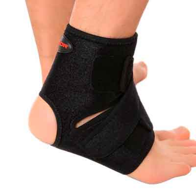 Liomor Ankle Support Breathable Ankle Brace for Running Basketball Ankle Sprain Men Women - S/M