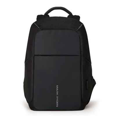 Markryden Anti-theft Laptop Backpack  Business Bags with USB Charging Port School Travel Pack Fits Under 15.6 Inch Laptop