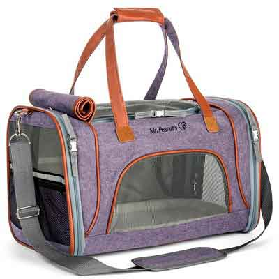 Airline Approved Soft Sided Pet Carrier by Mr. Peanut's