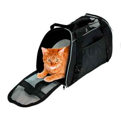 Soft Side Pet Carrier Travel Bag for Small Dogs and Cats Airline Approved Under Seat by Bencmate