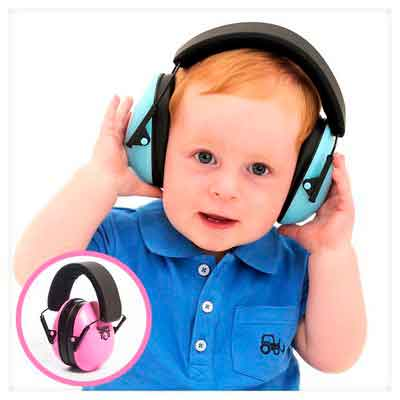 My Happy Tot Hearing Protection Earmuffs. Noise Canceling for Children & Infants