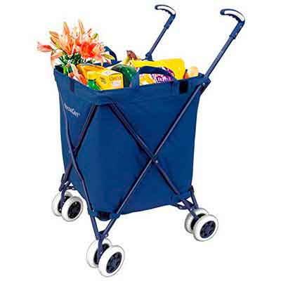 Folding Shopping Cart - VersaCart Transit Utility Cart - Transport Up to 120 Pounds