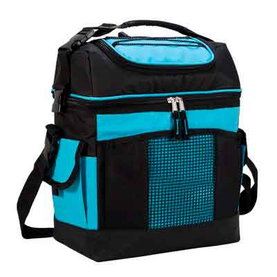 MIER 2 Compartment Cooler Bag Tote Large Insulated Lunch Bag for Picnic