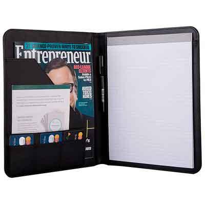 Jancosta Business Padfolio Portfolio with Letter Size Writing Notepads