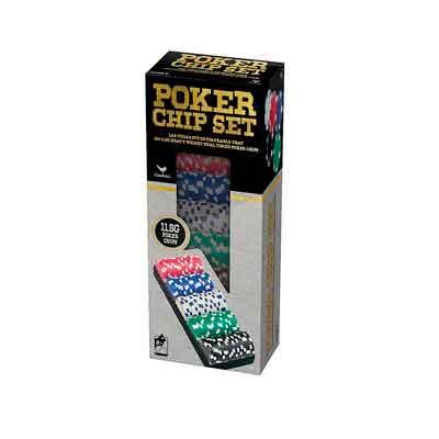 100 Ct. Poker Chips Set 11.5 gram