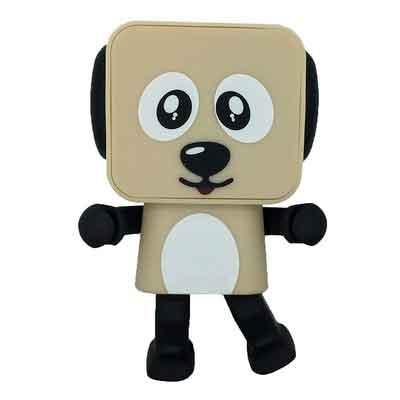 War Wolf Creative Wireless Bluetooth Speaker Robot Audio Speaker Smart Dancing Dog Toys Speaker