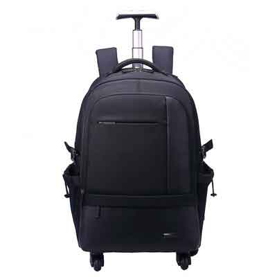 "Aoking 50L Waterproof Travel School Business Rolling Wheeled Backpack with 15.6"" Laptop Compartment"