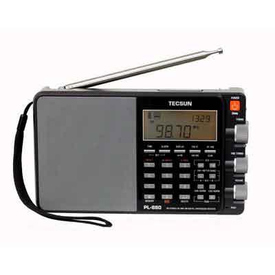 Tecsun PL880 Portable Digital PLL Dual Conversion AM/FM