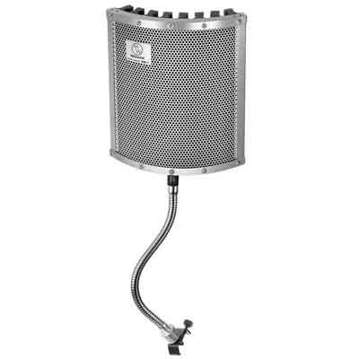 Neewer Lightweight and Portable Isolation Microphone Shield with Gooseneck Can be Used on Vocals