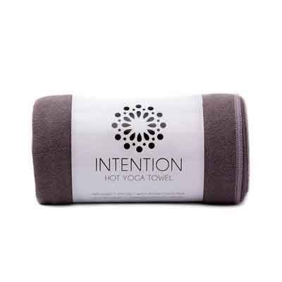 Intention Yoga Towel - Microfiber Hot Yoga Towel