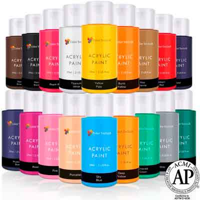 Acrylic Paint Set By Color Technik