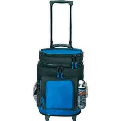 Travel5.0 Deluxe Ripstop Beach Travel Rolling Cooler With Wheels