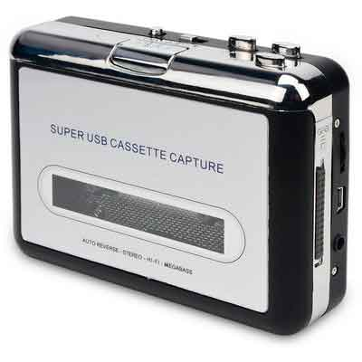 DigitNow! Cassette Tape To MP3 CD Converter Via USB