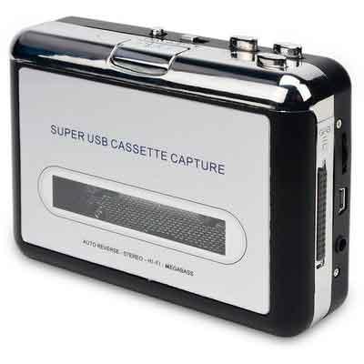 DigitNow! Cassette Tape To MP3 CD Converter Via USB