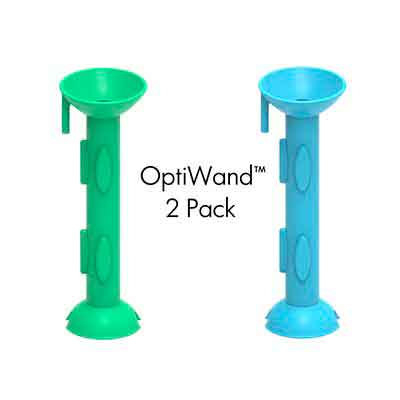 OptiWand 2 Pack Soft Contact Lens Insertion & Removal Tool. Not a suction cup for soft lenses. It will help pinch the soft lens