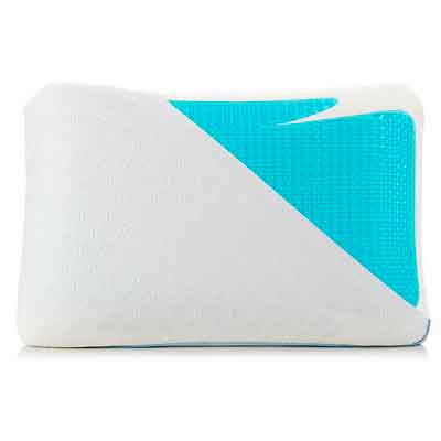 Cooling Pillow  Blue Gel Memory Foam Bed Pillows for Sleeping Cool