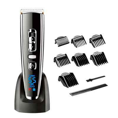 HATTEKER Hair Clippers for Men Electric Clippers Trimmer Grooming Set Cordless Rechargeable Clippers...