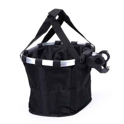 Pet Dog Bicycle Carrier Bike Basket Bag- Foldable Detachable Pet Dog Travel Bicycle Basket - Small Animal Dog Cat Rabbit Bike Ride Basket Carrier