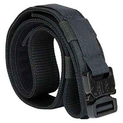 Aiduy Tactical Belt Heavy Duty Waist Belt Adjustable Military Style Nylon Belts with Metal Buckle Molle System 1.5