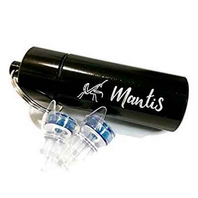 Earplugs - reusable High Fidelity professional long-term use hearing protection / non-foam noise reduction for musicians