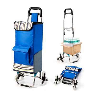 Upgraded Folding Shopping Cart