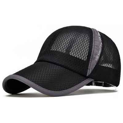 Ellewin Summer Baseball Cap Quick Dry Cooling Sun Hats Flexfit Sports Caps Mesh Hat for Golf Cycling Running Fishing Outdoor Research