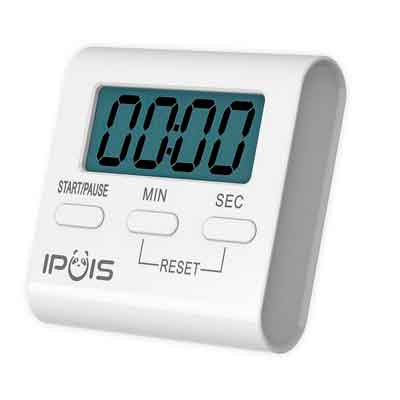 IPUIS Mini Cooking Timer Kitchen Timer Digital Large LCD Display Loud Alarm Timer Magnetic Cooking Timer