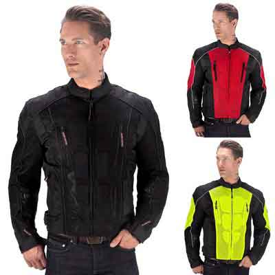 Viking Cycle Warlock Motorcycle Mesh Jacket