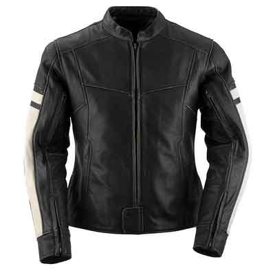 Black Brand Women's Leather Eternity Motorcycle Jacket
