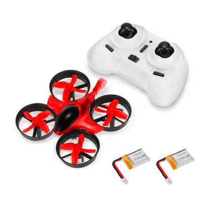 GoolRC T36 Mini RC Quadcopter Drone 2.4G 4 Channel 6 Axis With 3D Flip Headless Mode One Key Return Nano Copters RTF Mode 2 With Bonus Battery