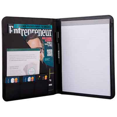 Jancosta Business Padfolio Portfolio with Letter Size Writing Notepads