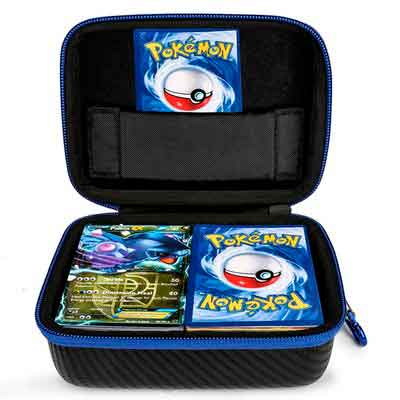 DOUBI Carrying case for Pokemon Trading Cards - Fits Up to 400 Cards