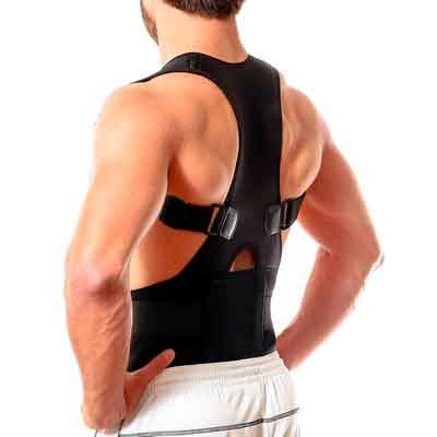 Back Brace Posture Corrector | Best Fully Adjustable Support Brace | Improves Posture and...