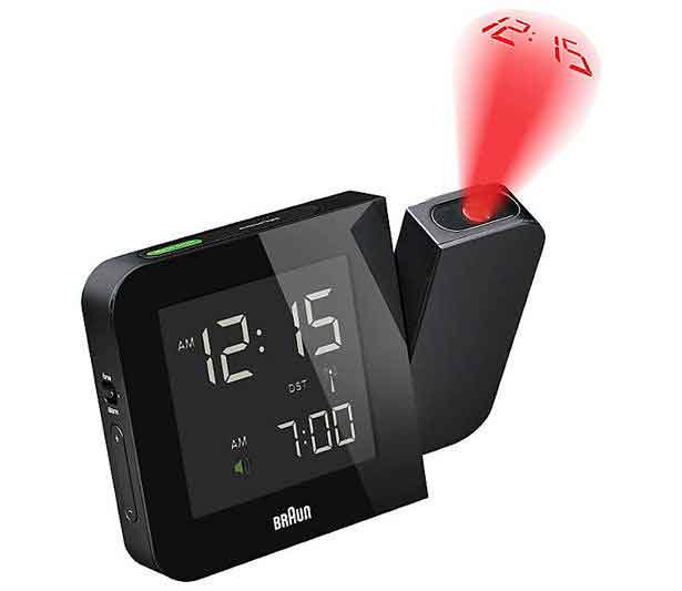 best projection clock Although this clock is best seen in darkness, that doesn't stop it from being one of  the coolest clocks a geek could hope for the timebeam projection clock.
