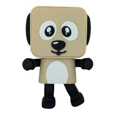 War Wolf Creative Wireless Bluetooth Speaker Robot Audio Speaker Smart Dancing Dog Toys Speaker