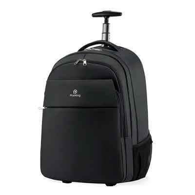Plambag Oversized Rolling Backpack School Travel Weekend Luggage Bag