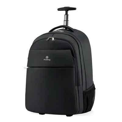 Plambag Oversized Rolling Backpack School Travel Weekend Luggage Bag