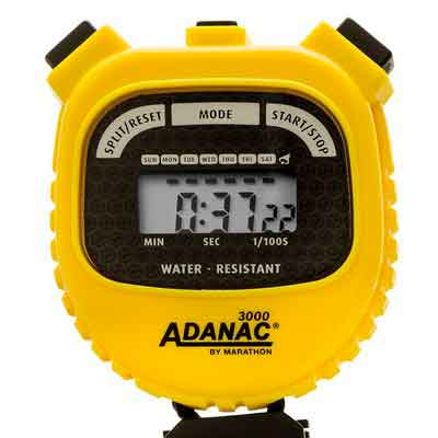 MARATHON Adanac 3000 Digital Stopwatch Timer with Extra Large Display and Buttons
