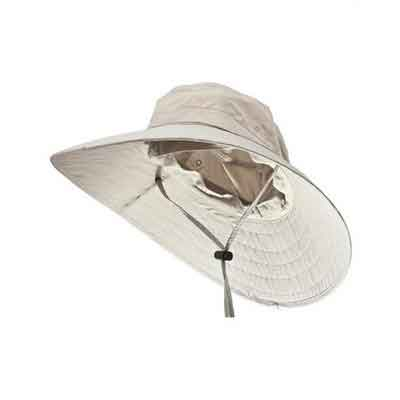 Sun Protection Zone Unisex Lightweight Adjustable Outdoor Booney Hat