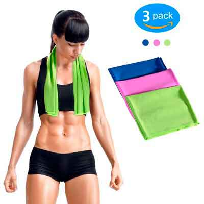 GLAREE Instant Cooling Towel