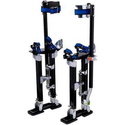 Pentagon Tools 1116 Black Drywall Stilt 18-30 Pentagon Tool Professional 18