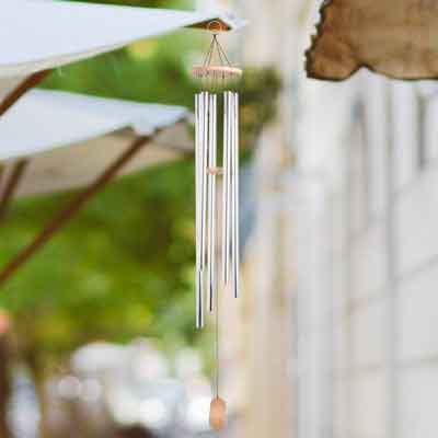 opeakmart Deep Tone Wind Chimes Soothing Tuned Windchimes